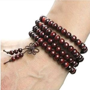 Sandalwood Beaded Bracelet/Necklace
